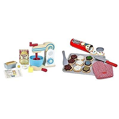 Melissa & Doug Make-A-Cake Mixer Set & Slice and Bake Cookie Set