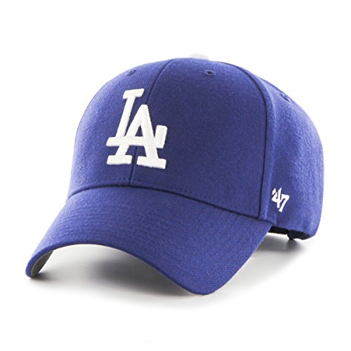 47 MLB Los Angeles Dodgers MVP Baseball Beretto, Blu (Royal), Unica Adulto