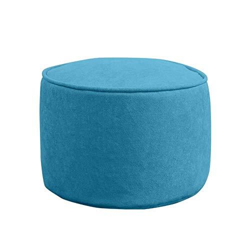 Kruk CJC zitzak, comfortabel, ottomane, rond, solide, kleur van de rest van de voet