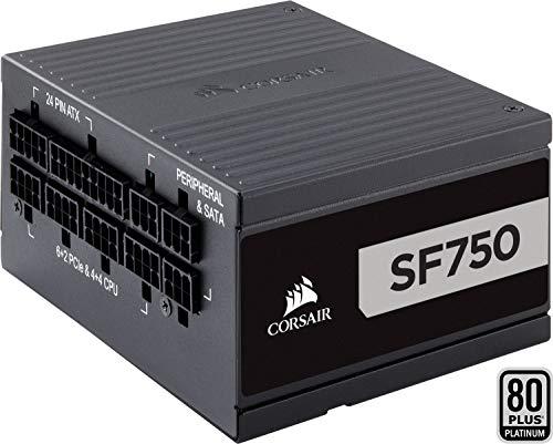 Corsair SF Series SF750 Alimentatore Completamente Modulare, 750 W, 80 Plus Platinum, Nero