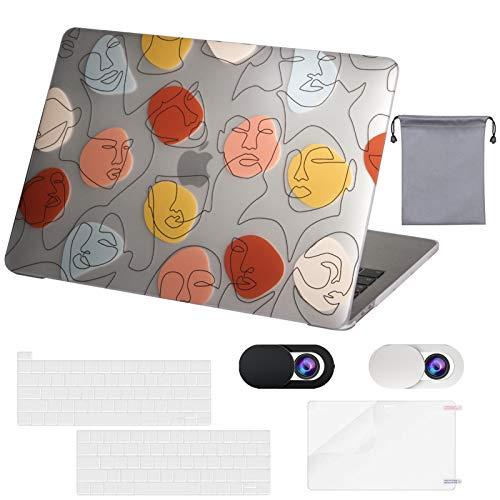 OZADE MacBook Pro 13 Inch Case 2016-2020 Release M1 A2338 A2289 A2251 A2159 A1989 A1706 A1708,Funda de plástico rígido,Funda para Teclado,Funda para Webcam,Protector de Pantalla,Bolsa de almacenaje