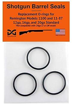 DynoGoods Shotgun Barrel Seals for Remington 1100 or 11-87 12ga O-Ring 3 Pack