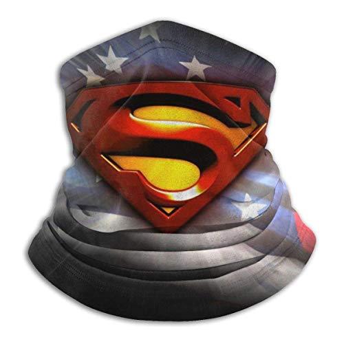 best& Super Heroes - Máscara de cara sin costuras, para cuello, bufanda, pasamontañas, bufandas, pasamontañas