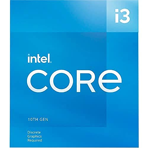 Intel Core i3-10105F LGA1200 Desktop Processor 4 Cores 8 Threads up to 4.40GHz 6MB Cache