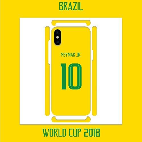 DìMò ART Cover Case Custodia Apple Modello iPhone 7 Mondiali di Calcio World Cup 2018 Brasile Brazil Neymar Jr. 10