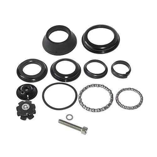 HAIBIKE Steuersatz Head-Set FEIMIN Yamaha Bosch Einfache Ausführung, Tapered 1 1/8' Gabel, schwarz (1 Set)