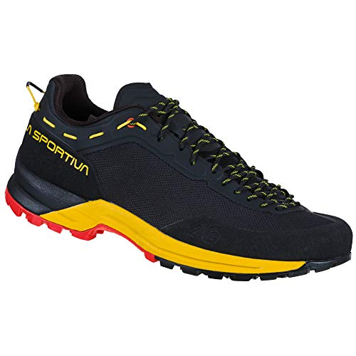 LA SPORTIVA Herren Tx Guide Bergschuhe, Black/Yellow, 43 EU