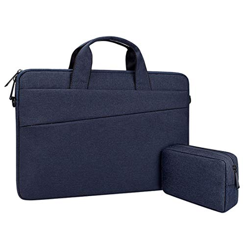 12-15 Inch Laptop Schoudertas Sleeve Case 360 Graden Beschermende Waterdichte Laptop Sleeve Case Bag Compatibel met 14 15 15.6 Inch Computer Notebook Macbook Pro Retina Asus Acer Hp