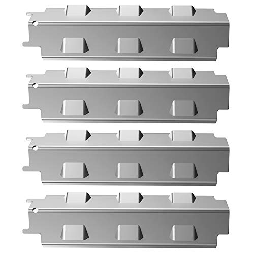 GASPRO 14 5/8 inch Thick Metal Heat Plate for Charbroil, Nexgrill 720-0830H, Kenmore and Other Grill, Upgraded Stainless Steel