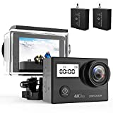 DBPOWER N5 Pro WiFi Action Camera 4K Ultra HD 20MP Sports Camera 30m Underwater...