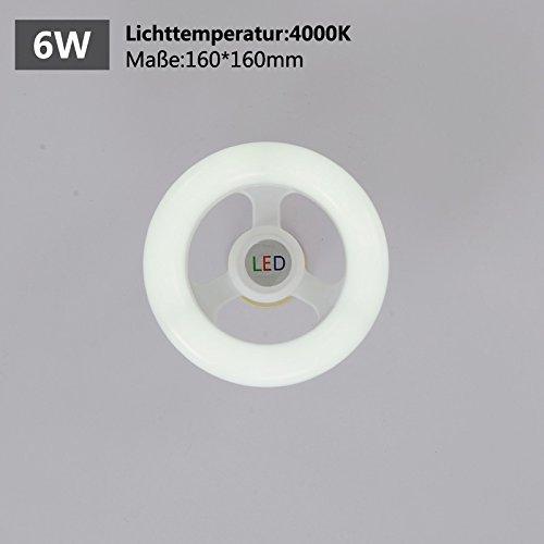 Natsen® LED Design Neutralweiß 6W E27 lampe für Kinder-zimmer Leuchtemittel für Hängeleuchte