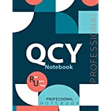 """QCY Notebook, Examination Preparation Notebook, Study writing notebook, Office writing notebook, 140 pages, 8.5"""" x 11"""", Glossy cover"""