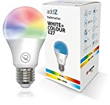 Stimmungsvolles Licht – unterstützt bis zu 16 Mio. Farben und zusätzlich Warmweiß/Kaltweiß Farbspektrum, Lichtstrom: 806 lm Plug & Play – einfach LED Lampe einschrauben, anmelden, fertig Stufenlos dimmbar via Zigbee Automatisch Lichtszenarien und Dim...