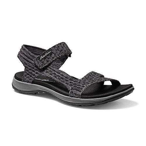 Eddie Bauer Women's Flexion Sandal, Black Regular 7M