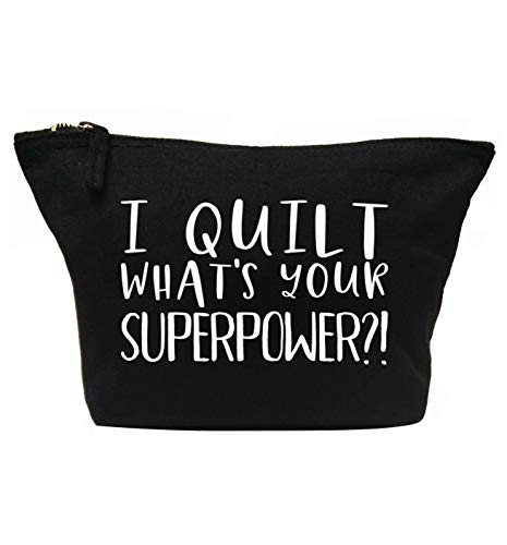 Flox Creative Make-up-Tasche I Quilt Your Superpower