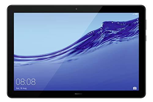 HUAWEI Mediapad T5 LTE Tablet-PC (25,6 cm (10,1 Zoll) Full HD Display, 32 GB interner Speicher (erweiterbar), 2 GB RAM, 5100 mAh Akku), Schwarz, Black, 53011PBW