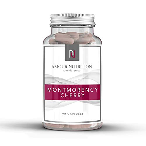 Montmorency Cherry Capsules, Antioxidant Rich, Anti-inflammatory, Vegetarian Friendly, Quality Assured