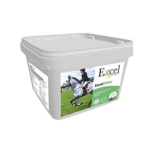 Excel Supplements Europe OliFlex 1 kg | Suplementos para Caballos | Salud Articular | Promueve la Salud del cartílago | Reduce la inflamación Articular | Cuidado del Caballo | Salud del cartílago