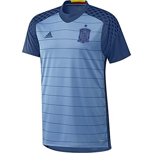 1ª Equipación Selección de España 2016 - Camiseta oficial adidas para hombre, color azul, talla M