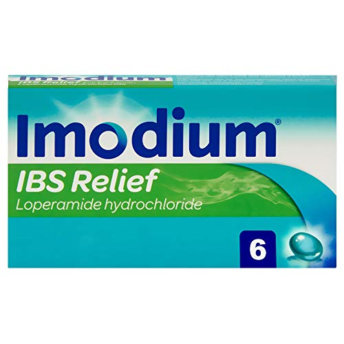 Imodium Capsules for IBS Diarrhoea Relief - Designed to Relieve IBS Diarrhoea Episodes Quickly - IBS Relief Treatment & Diarrhoea Relief Capsules - 6 Capsules