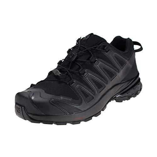 Salomon Homme Chaussures de Trail Running, XA PRO 3D v8 GTX, Couleur: Noir (Black/Black/Black), Pointure: UE 41 1/3