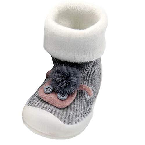 TeasyDay Kleinkind Schuhe MäDchen, Babyschuhe Niedlicher Karikatur-Bildentwurf Starke Warme Schuhe, Kleinkind Krippe Schuhe