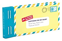 Letters to my baby keepsake book
