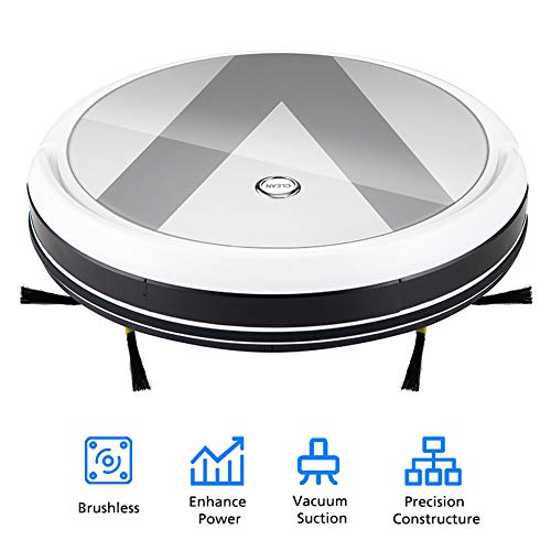 Purchase Robot Vacuum Cleaner for Home, 1800Pa Large Suction Smart Vacuum Cleaner, 180 ° Wide-Angle...