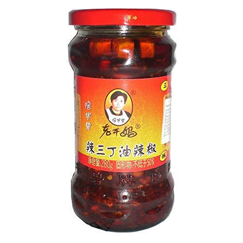 老干馬 辣三丁油辣椒(三種具入りラー油) 260g
