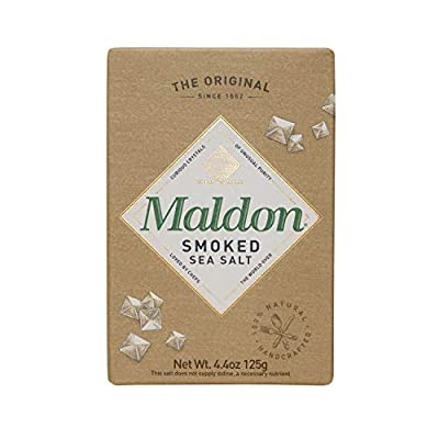 Maldon Sea Salt - Flaky Pyramid-Shaped Cystals