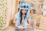 FILWO lustige Tierohr Mütze Hut Plüsch mit Beweglichen Ohren Cosplay Kostüm lustige Geschenke für Kinder Mädchen Junge