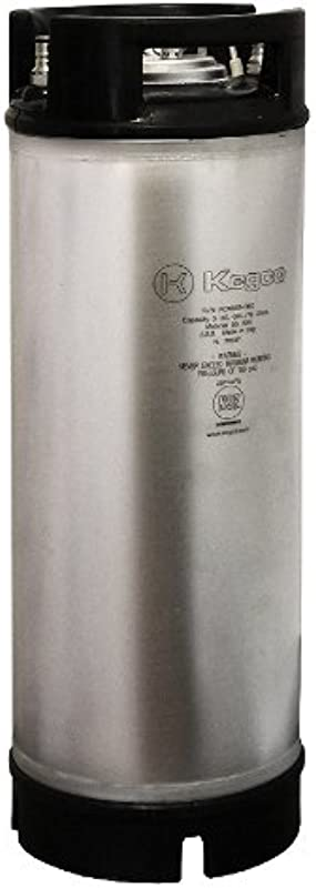 Kegco KC ICK 5RB New Coffee Keg 5 Gallon Clear