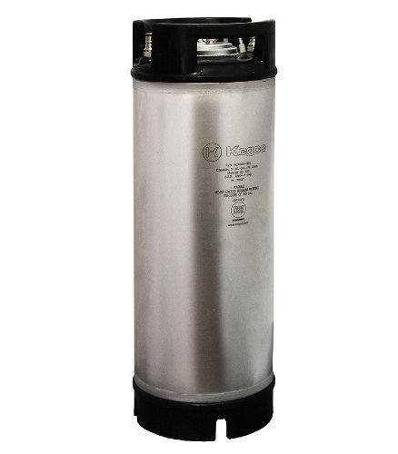 Kegco KC ICK-5RB New Coffee Keg, 5 gallon, Clear