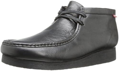 Clarks Men& 039;s Stinson Hi Chukka Stiefel,schwarz Leather,11.5 M US