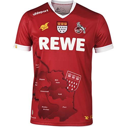 uhlsport 1. FC Köln Karnevaltrikot 2019/2020 Herren - rot