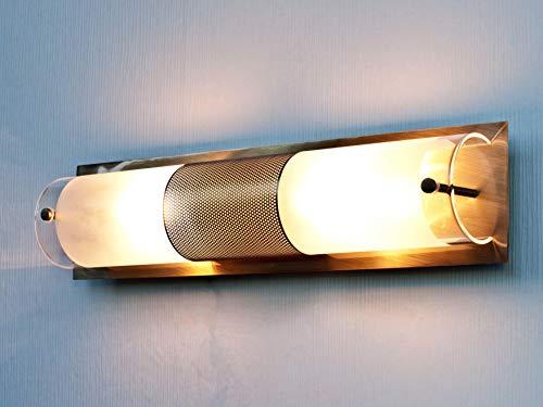Badleuchte im Jugendstil 1/1/909 aus Metall und Echtglas IP20 Jugendstilleuchte Lampe Leuchte