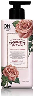 [LG] ON THE BODY Cashmere Perfume Body Lotion (Sweet Love) 400ml