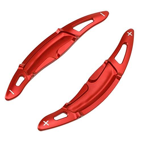 YYMM Schichtpaddel Aluminiumlenkräder DGS Shift Paddel Shifter Verlängerung für-Porsche Cayenne Macan Panamera 911 Cayman/Boxster