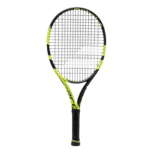 Babolat 2018 Pure Aero Tennis Racquet - Quality String (4-3/8)