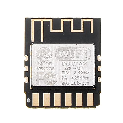 XXMK Smart Module - ESP-M4 Trådlös WiFi-modul ESP8285 Seriell portöverföringskontrollmodul ESP8266 - Produkter som arbetar med officiella styrelser DIY Smart Module (Color : AT Firmware)