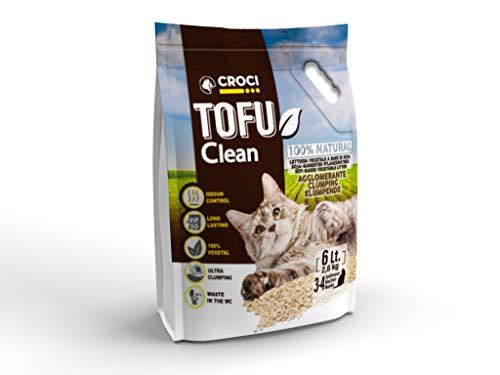 Croci Lettiera Tofu Clean 6Lt2,6Kg