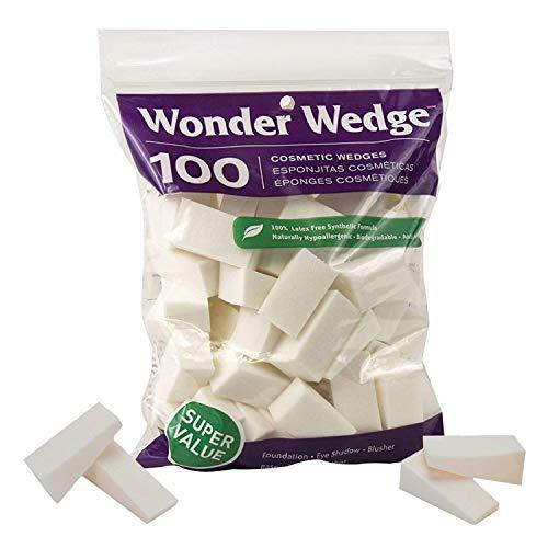 Makeup Sponge Blender, Great for Blending Foundation and Concealer Bulk Pack By Wonder Wedge (1 Pack)