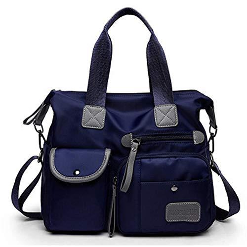 Neu Mode Mamabeutel Nylon Tragbare Reisetasche mit einer Schulter mit viele Tasche Wickeltasche Mama Tasche für Baby Tasche kinderwagentasche organizer