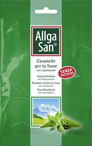 Allga San Naturwaren Italia 19741 Caramelle al Pino Senza Zucchero per la Tosse