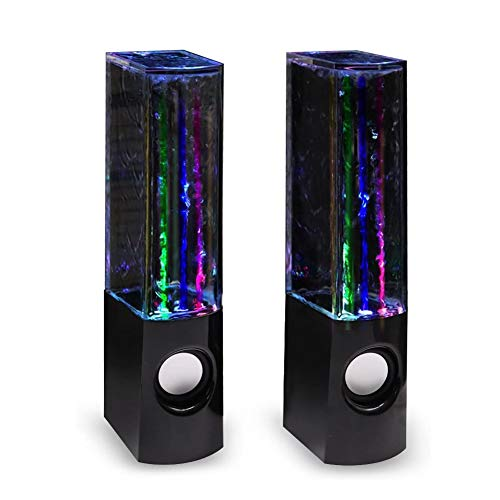 Aolyty LED Water Speaker with Dancing Fountain Light Show Sound