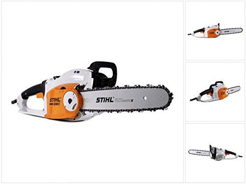 Stihl MSE 230 C-BQ Elektro Kettensäge mit 40 cm Schnittlänge + 1,3 mm Kette (1209 011 4030)