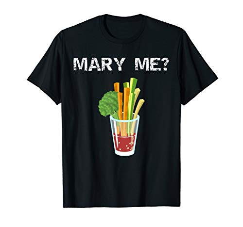 Mary Me Bloody Mary Lustiger Brunch Entwurf T-Shirt