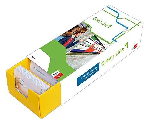 Klett Green Line 1 Bayern Klasse 5 - Vokabel-Lernbox zum Schulbuch: Englisch passend zum Lehrwerk üben