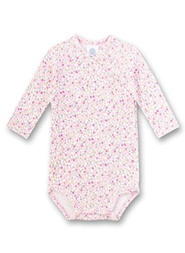 Sanetta Baby-Mädchen Wickelbody Spieler, Rosa (rosa 3813), 56 (Herstellergröße:056)