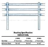 41WaiHTfaOL. SL160  - 2 Rail Split Rail Fence